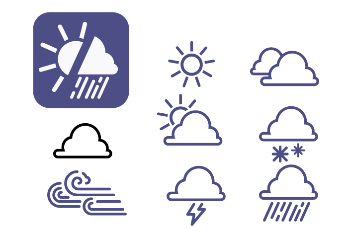 weather-app-icon-collection